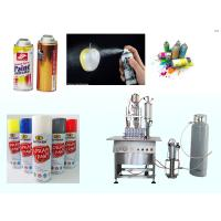 Buy cheap Aerosol Keyboard Cleaner Spray Paint Filling Machine 316 Stainless Steel from wholesalers