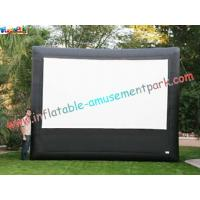 Buy cheap Advertising giant Inflatable Movie Screen, outdoor projection movie screenings for disply from wholesalers