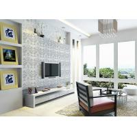 Buy cheap 3D PVC Geometric Printing Wallpaper TV Background Contemporary Wall Covering from wholesalers