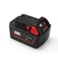 Buy cheap Melasta 18V 3000mAh Lithium-ion Battery for Milwaukee M18 Red XC 48-11-1815 48-11-1820 48- from wholesalers