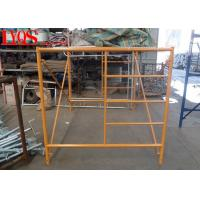 "Mason Triple Ladder Frame Scaffolding 5'×5'7"" For Indoor Slab Supporting"
