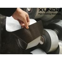 Buy cheap Geotextile backed Polypropylene Fiber Woven Tape , protective pipeline coating bituminous tape from wholesalers
