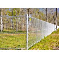 Buy cheap Multi PVC Color Driveway Chain Link Fencing With Steel Iron Wire Materials from wholesalers