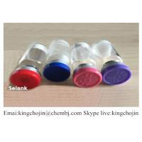 Buy cheap Human Growth Hormone Releasing Peptides Selank Medicine raw material Lyophilized Peptide from wholesalers