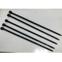 Buy cheap Black Nylon Cable Ties 150mm Length For Big Size Wire Harness Cable from wholesalers