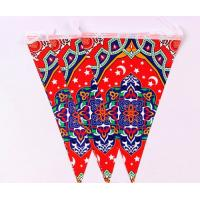 Buy cheap Wedding Theme Pennant String Flags / Personalized Party Pennant Flags Customized Size from wholesalers