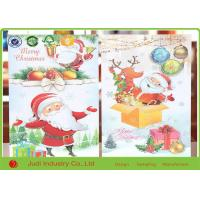 Buy cheap Unique Christmas Thank You Cards Circular / Oval Seasons Greetings Cards from wholesalers