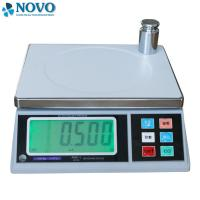 Buy cheap electronic reliable bathroom scales , ss digital weight balance machine from wholesalers