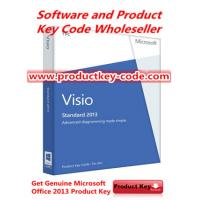 Buy cheap Microsoft Office Product Key Codes For Microsoft Office visio 2013 Standard product