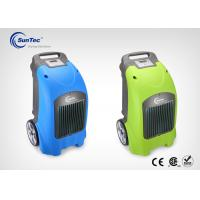 Buy cheap 100 Liters / Day Portable Air Water Damage Restoration Dehumidifiers For A Basement from wholesalers