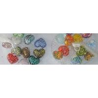 Buy cheap Heart Glass Decoration (SRG075006-1-2) from wholesalers