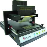 Buy cheap High quality manual hot stamping machine for leather from wholesalers