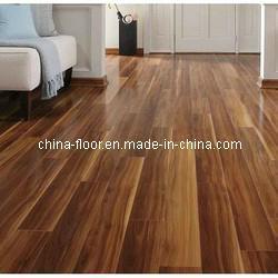 Buy cheap Glossy Walnut Laminate Wood Flooring product