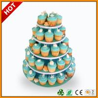 Buy cheap Advertising wedding cake stand / 3 Tier Art Paper paper corrugated from wholesalers