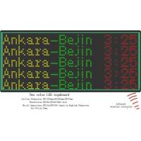 Buy cheap bus led display board for showing destination and route number from wholesalers