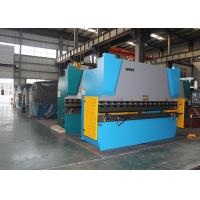 Buy cheap Y X Axis Crowning CNC Control 100 Ton Press Brake Plegadora Hydraulic Press Bender from wholesalers