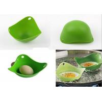 Buy cheap Creative Green Kitchen Silicone Egg Poacher / Fried Egg Rings Silicone from wholesalers
