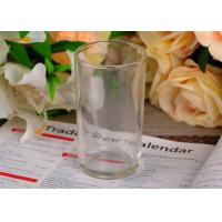 Buy cheap 186Ml Water Glass Tumbler , straight tempered water glass cup 100mm high product
