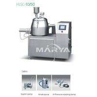 Buy cheap HLSG-10/50 Intelligent Automatic High Effective Mixing and Granulating Machine product