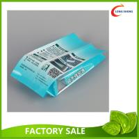 Buy cheap Back Fin Seal Side Gusset Cello Printed Plastic Food bags for Supermarket Snacks Packaging from wholesalers