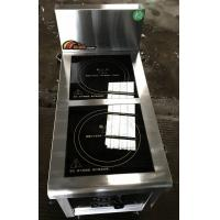 Buy cheap 2.4Kw Commcercial Induction Cooker 2 Zone , Commercial Induction Hob from wholesalers