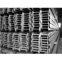 Buy cheap Hot Rolled I Beam Galvanized Steel Products With GB / JIS / EN And JIS Standard from wholesalers