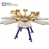 Buy cheap Hot selling 8 color 8 station screen printing machine from wholesalers