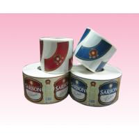 Buy cheap custom printing full color paper sticker label with strong adhesive in roll manufacturer from wholesalers