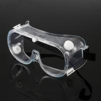 Buy cheap Transparent 153mm*75mm Anti Fog Safety Glasses product