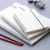 Buy cheap OEM Recycled Paper Spiral Bound Book Printing Removable White PP Spiral Notebook from wholesalers