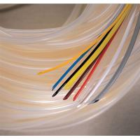Buy cheap Flexible White Silicone Rubber Tubing for Automobile Cable Wiring Insulation from wholesalers