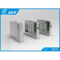 Buy cheap Electro Mechanical Pedestrian Swing Gate , Outdoor Gym Turnstile Security Doors from wholesalers