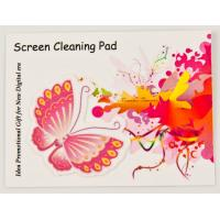 Buy cheap Customized Special Shape Microfiber Screen Cleaner Sticker from wholesalers