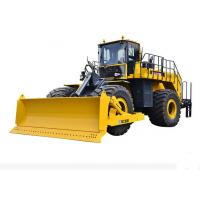 Buy cheap 410KN Wheel Bulldozer mining and earthmoving machinery DL1200K with luxurious cab from wholesalers