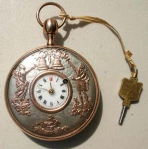 China New Stylish Stainless Steel Quartz Antique Pocket Watch on sale