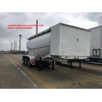 Buy cheap Bulk Cement Tank Trailer 50-80 Ton Loading Capacity For Cement Plant  With Bohai Air Compressor from wholesalers