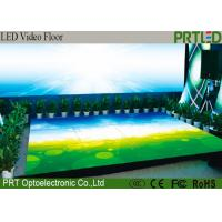 Buy cheap P6.25 Full Color Display Screen LED Video Dance Floor For Stage , Events from wholesalers