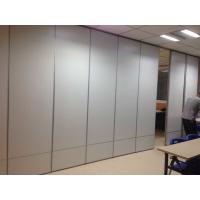 Buy cheap Commercial Sound Proof Partitions , Aluminium Sliding Acoustic Room Dividers from wholesalers
