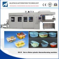 Buy cheap Full Servo Motor Disposable Plastic Cup Tray Thermoforming Machine from wholesalers