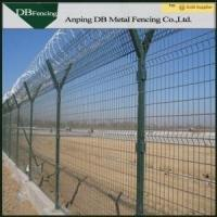 Buy cheap Low Carbon Steel Wire Welded Metal Fence Panels Corrosion Resistance Anti - Aging from wholesalers