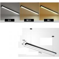 Buy cheap Rectangular Linear Led Ceiling Lights , Modernled Hanging Lights For Office from wholesalers