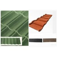 Buy cheap Light Weight Waterproof Double Roman Roof Tile , spanish red roofing tiles from wholesalers