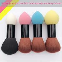 Buy cheap Double Head Makeup Foundation Brush Powder Puff  Synthetic Hair and Sponge Hair Material product