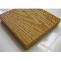 Buy cheap Solid Wood Plastic Composite WPC Decking / Flooring Boards Anti - slip from wholesalers