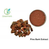 Buy cheap 95% Proanthocyanidins Anthocyanin Extract Powder Pine Bark Extract Powder from wholesalers