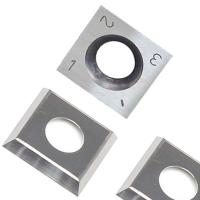 Buy cheap RTing 14mm Square Carbide Inserts Cutter for Wood Working & Turning,(14mm lengthX14mm widthX2.0 thick),Pack of 10 from wholesalers