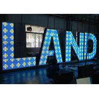 Buy cheap Indoor RGB Custom LED Display LED Letters Steel Cabinet for Advertising from wholesalers