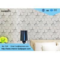 Greywhite Modern Removable Wallpaper 1500g , Geometric Modern Wallpaper