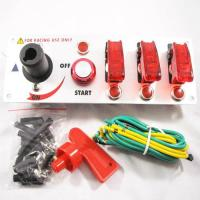 Buy cheap Flip-up Start Ignition Switch Panel for Racing Sport (DC 12V) from wholesalers