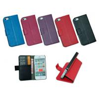 Buy cheap Lithchi PU Luxury Leather Protective Case for iPhone 5 5S with Stand and Card Holders from wholesalers